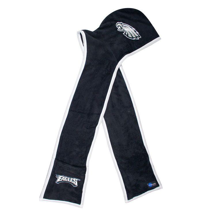 Philadelphia Eagles NFL Ultra Fleece Hoodie Scarf