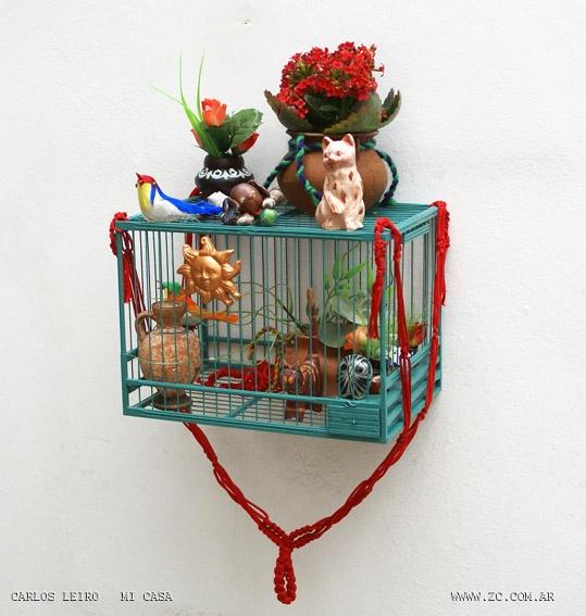 small cage. carlos leiro´s home: Small Cage, Carlo Leiro, Mi Casa