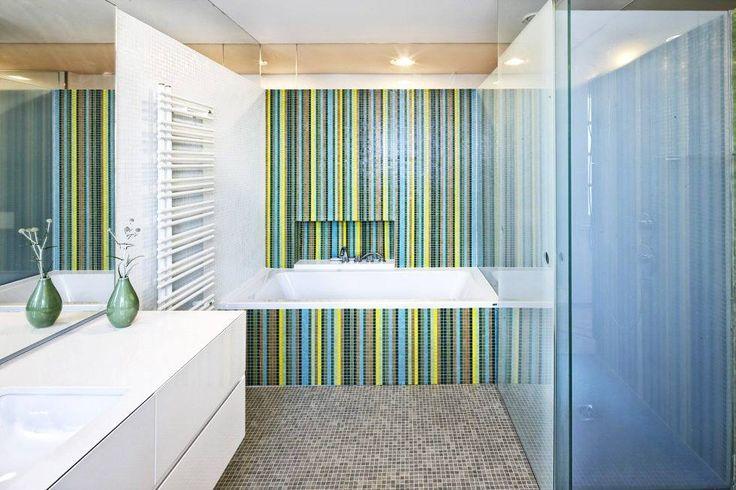 Creative idea for your next bathroom design or renovation.