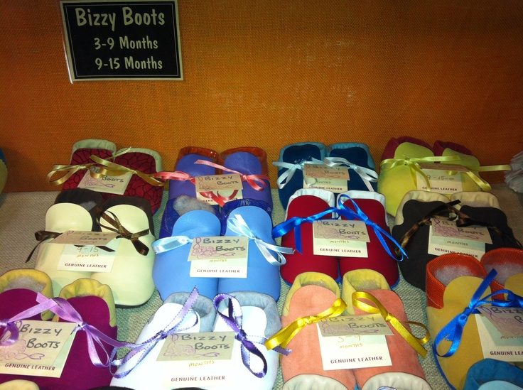 Baby Booties Sizes 3-9 months and 9-15 months