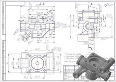 15 best AutoCAD Practice 3D Drawing images on Pinterest