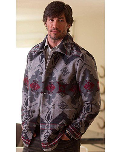 Prepare for the cold days ahead by pulling on this jacket from Ryan Michael. The wool construction of this jacket will keep you warm on the colder days of the season. You will love the blanket pattern of this jacket as you take a long walk on the trail or in the city. Fill your closet with warm...  More details at https://jackets-lovers.bestselleroutlets.com/mens-jackets-coats/wool-blends-mens-jackets-coats/product-review-for-ryan-michael-mens-grey-wool-blanket-jacket-e1484