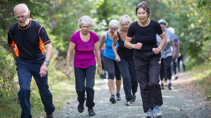 Med knallhard intervalltrening for eldre vil forskerne finne ut om trening forlenger livet.