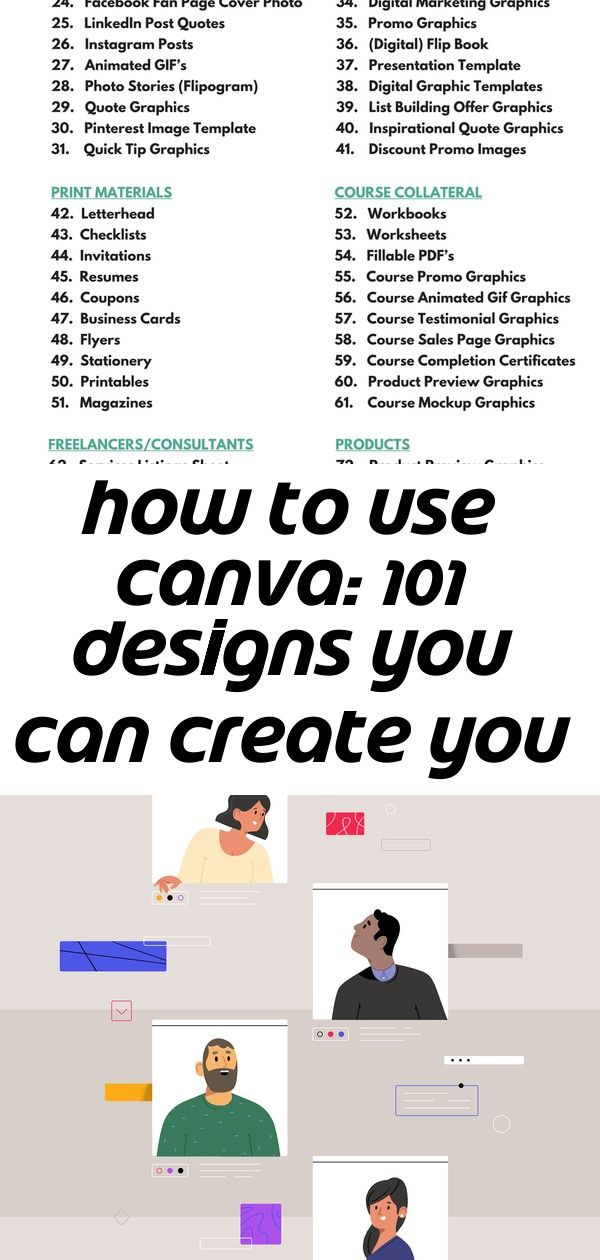How To Use Canva 101 Designs You Can Create You Probably Didnt Know You Could Includes Pdf 2 Digital Flip Book Graphic Quotes Digital Graphics