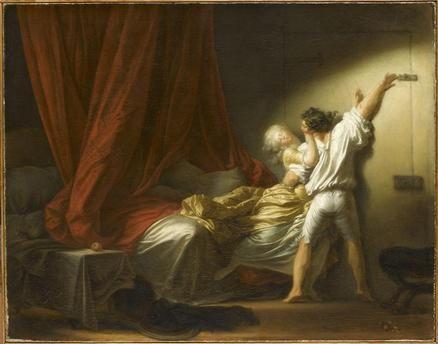 Le Verrou Fragonard Jean-Honoré (1732-1806) Paris, musée du Louvre