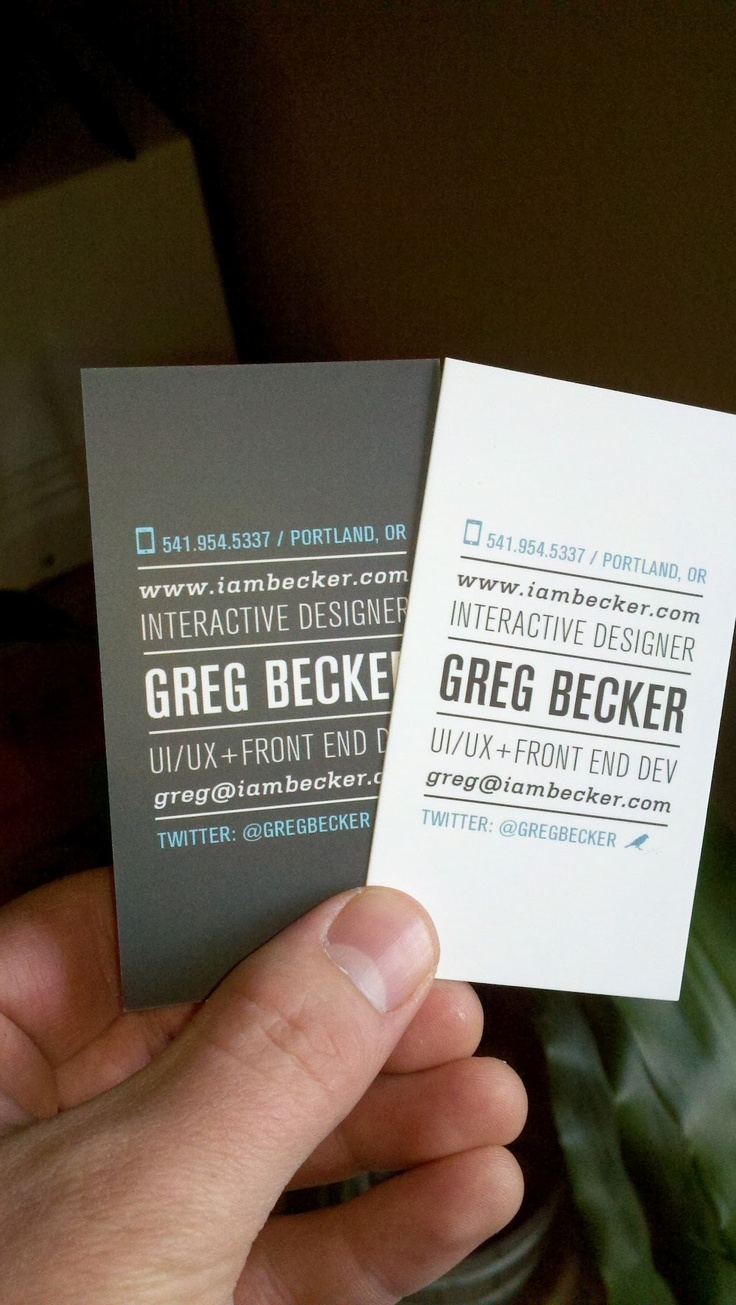 Portland Business Cards Images - Free Business Cards