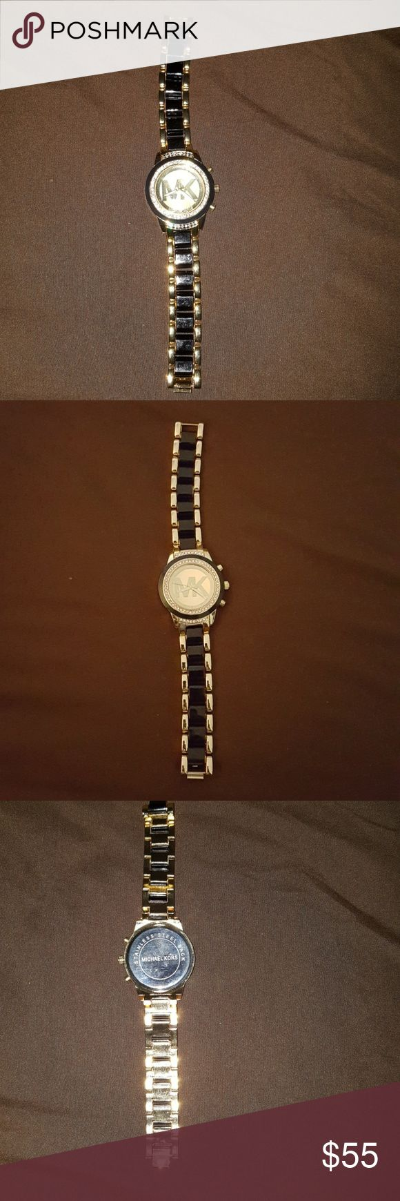 Michael kors watch price firm Pre owned  Good condition Still works Michael Kors Accessories Watches