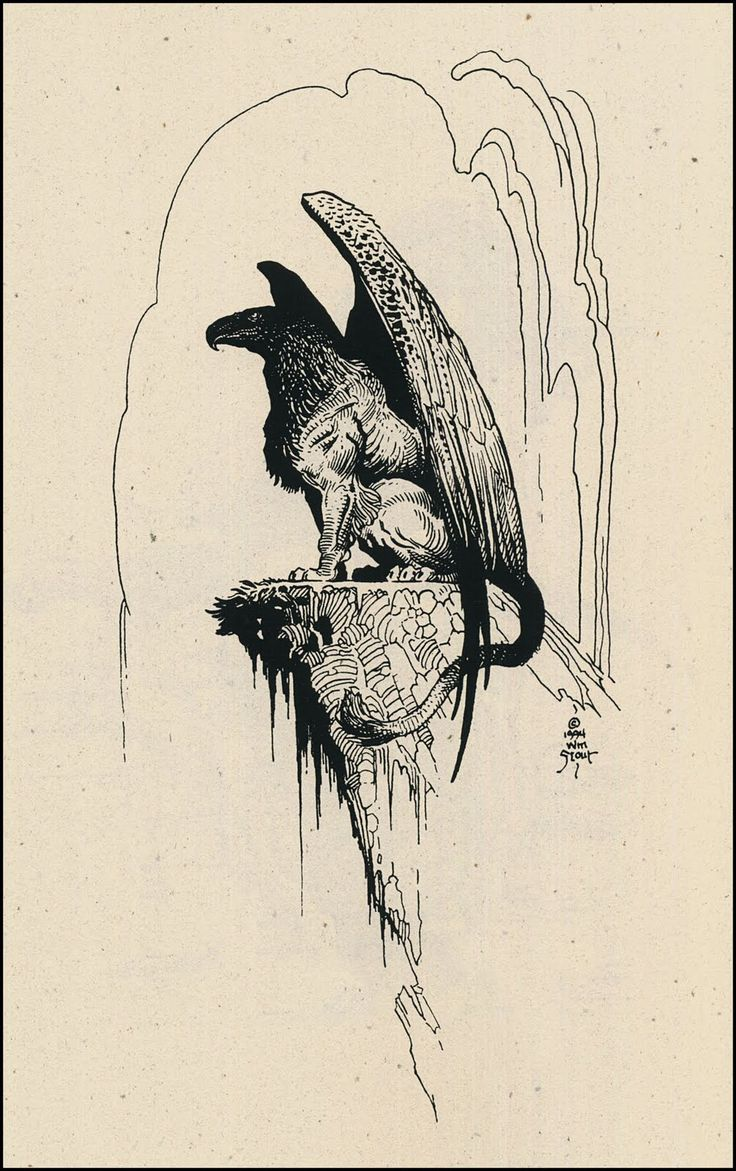 Gryphon by Wm. Stout