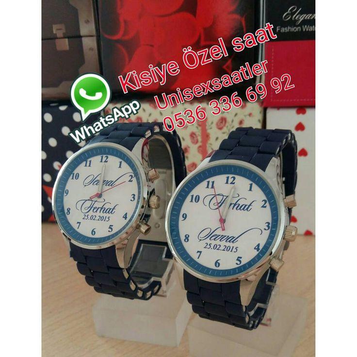 Resimli Saat - vipyol - enspor - hediye saat - sevgili saati - çift saatler