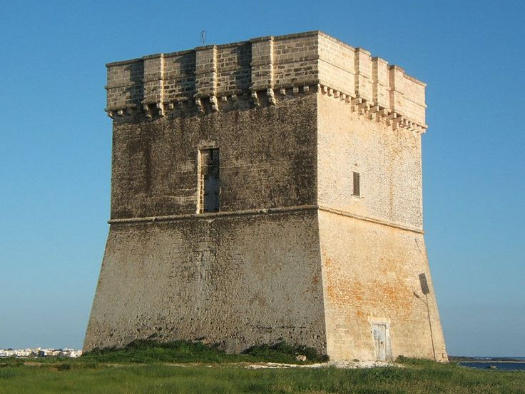 Porto Cesareo. Torre Chianca