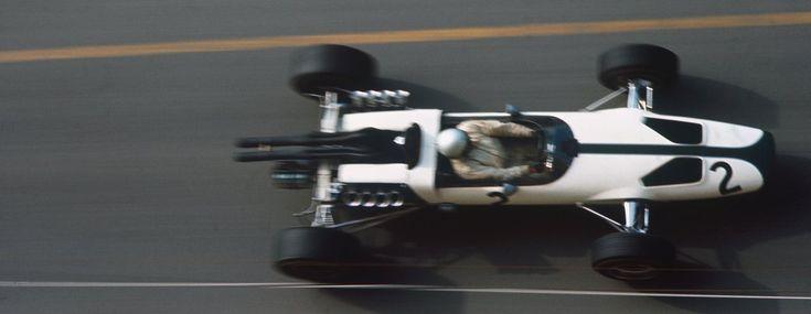 Bruce McLaren in the McLaren M2 - 1966 Monaco Grand Prix