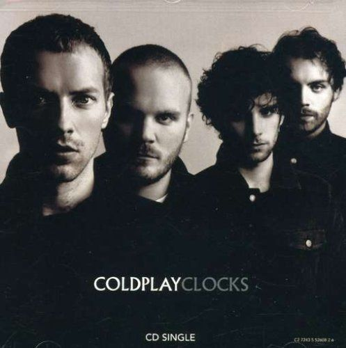 Coldplay Clocks / Yellow Album Cover