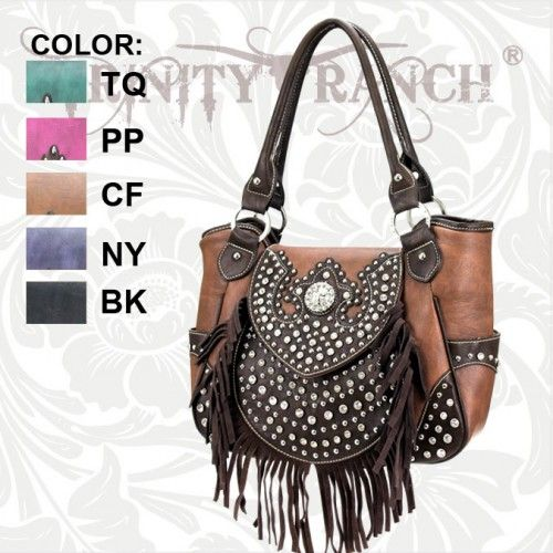 Trinity Ranch Fringe Purses TR-SSH-8110 Back In Stock