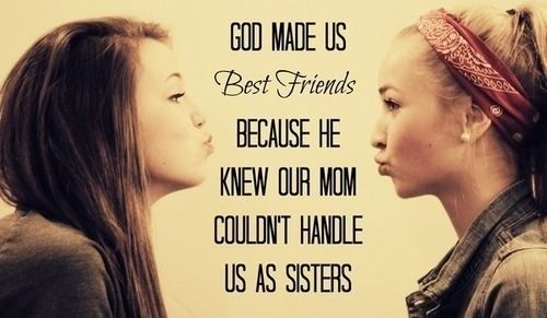 Cute Best Friend Quotes For Girls Tumblr | quoteeveryday. so true. hehehehe