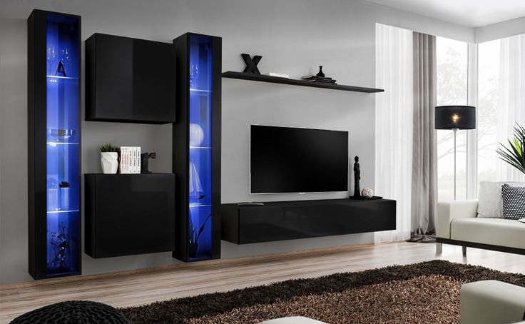 Superbe Modern Wall Units | Wall Units | Living Room Wall Units | Contemporary Wall  Units |