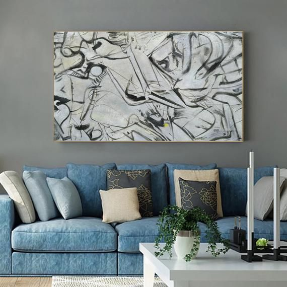 Extra Large Wall Art Modern Abstract Canvas Art Large Etsy Extra Large Wall Art Oversized Wall Art Large Wall Art #oversized #wall #art #for #living #room