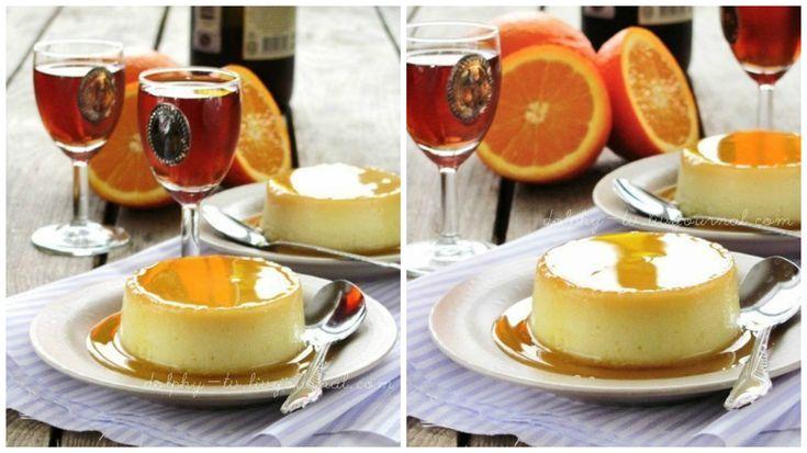 Апельсиново-карамельний флан