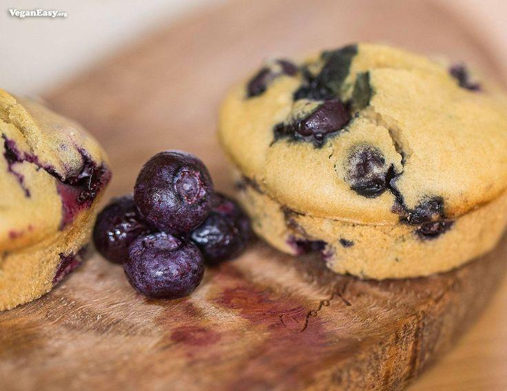 Blueberry Muffins -VeganEasy.org