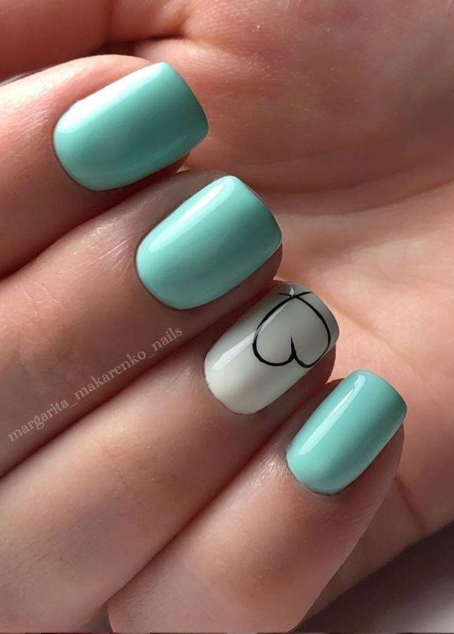 Colorful Gel Nail Designs For Short Nails And Long Nails