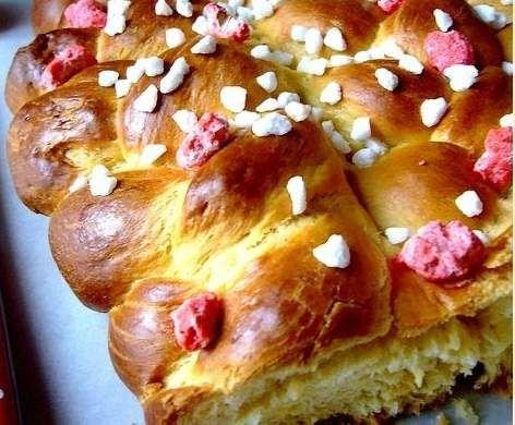Recette Brioche aux pralines Express par mandou44 - recette de la catégorie Desserts & Confiseries