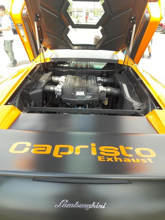 A Peek Inside The Engine Bay Of A Lamborghini Murcielago Lp670 4 Sv