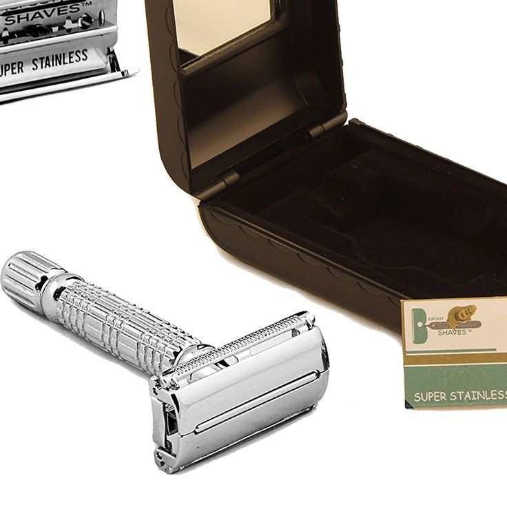 Double Edge Safety Razor Shaver Blade Classic Shaving Blades Men Vintage Beard