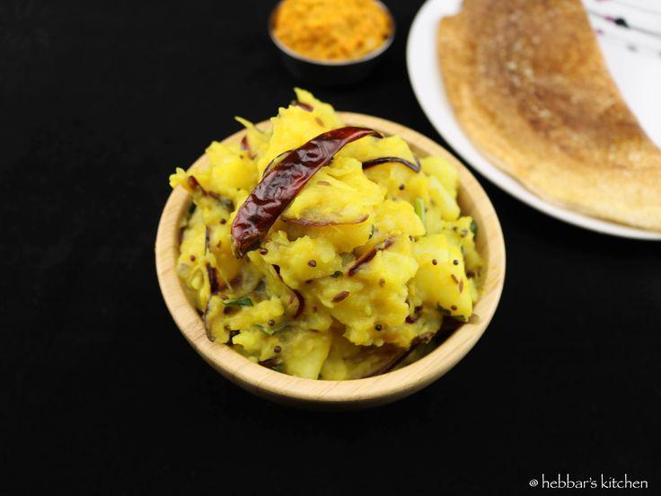 potato curry recipe for masala dosa  aloo bhaji recipe for masala dosa with step by step photo recipe.aloo bhaji recipe can be served with roti and breads