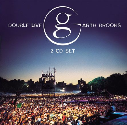 One of the Greats. Garth Brooks Double Live set. Almost every song reminds me of when my dad and I would go camping and we would jam out to country music on our way there.