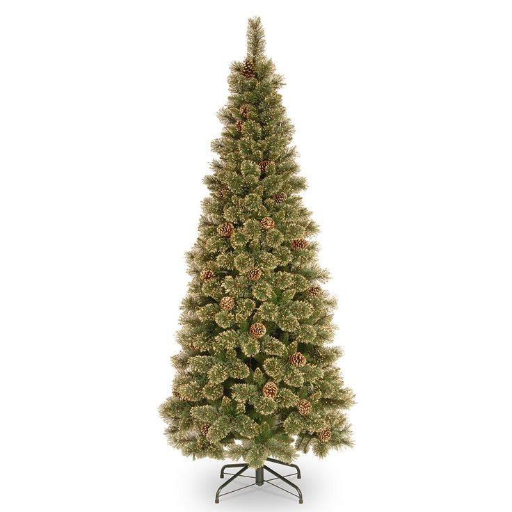 25 Best Ideas About Slim Artificial Christmas Trees On