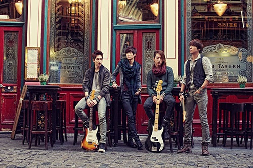 CNBLUE is planning a world tour in 2013 including regions as South America, Singapore, China, Hong Kong, Europe, Australia, and United States.