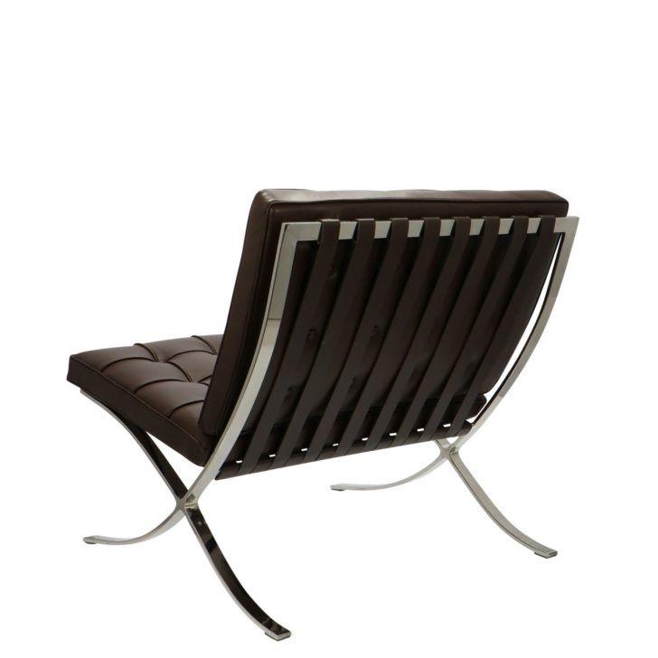 Interior Design Fauteuil Barcelona Chaise Barcelona Premium Marron Fauteuil Copie Meuble Le Corbusi Cool Furniture Transforming Furniture Reupholster Furniture