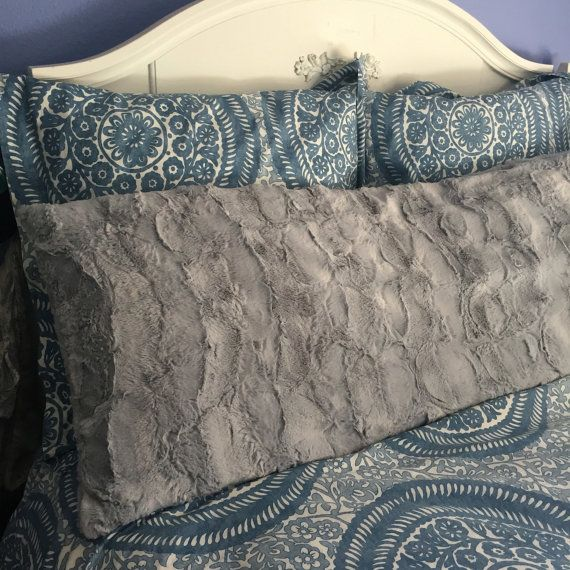 Finish off your dorm room or bedroom with the uber soft body pillow. This pillow can lay along the long side of your twin bed to make seating comfy or across larger beds for studying.  Available in this Hide pattern for a fun trendy look.  Currently available in Natural Silver Charcoal  Please check our shop for new additions!  Measurements 20x54  This listing does not include the insert. You can find reasonably priced insert at Amazon, Target or Bed Bath and Beyond.  Care Instructions Cold…