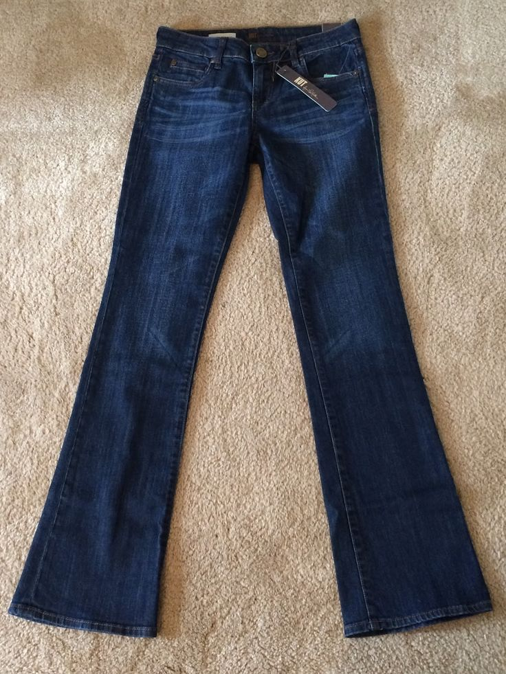 "Kut From the Kloth Cai Bootcut Jean (From Stitch Fix #1) - fit well, but didn't have a ""wow"" factor of any kind to make me want to spend $88 on a just serviceable pair of jeans. I do LOVE dark blue jeans and want more of them in my wardrobe, though."