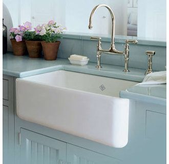 30 White Farmhouse Sink : RC3018 30