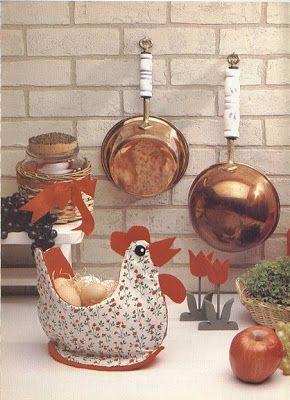 Para tu cocina Lindas gallinas de tela .Si eres muy fan de coleccionar gallinas o decorar tu cocina con unas gallinitas, te traigo est...