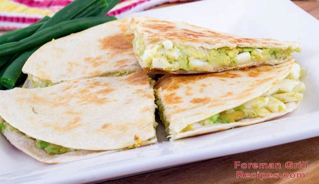 This easy-to-make chicken quesadilla recipe for your George Foreman Grill will become a favorite for all occasions - snack time, meal time, you name it!