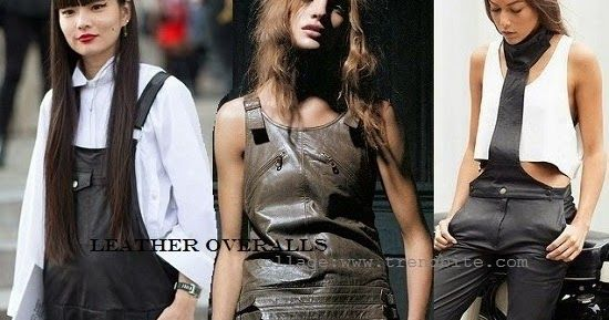 TrendBite: Leather Overalls   How To Wear   Fashion Finds
