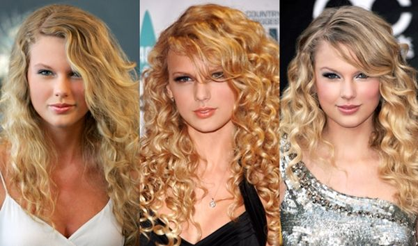 i miss the Taylor's curly hair days!  kinda like i miss Nicole Kidman's curls! ::: Taylor Swift with Curls | cutecurlyhair.com #curlsrock #curlyhair
