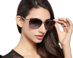Luxusné slnečné okuliare v hnedom prevedení 3f587a621e3