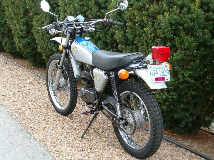 1974 honda 125 enduro moto cross honda elsinore. Black Bedroom Furniture Sets. Home Design Ideas