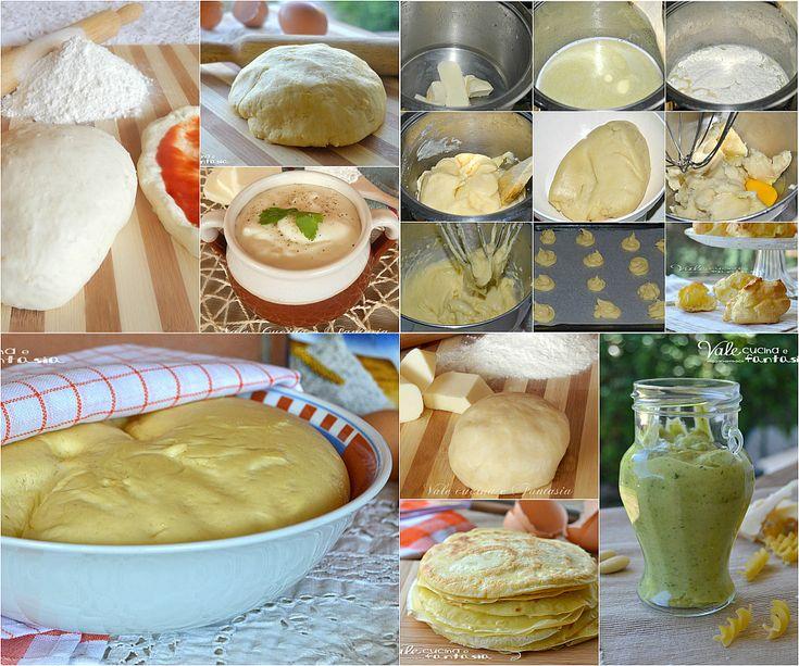 Raccolta di ricette base salate facili