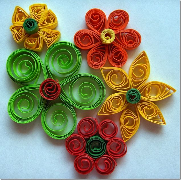 Paper Quilling - easy tutorial for basic techniques in this craft also known as paper filigree