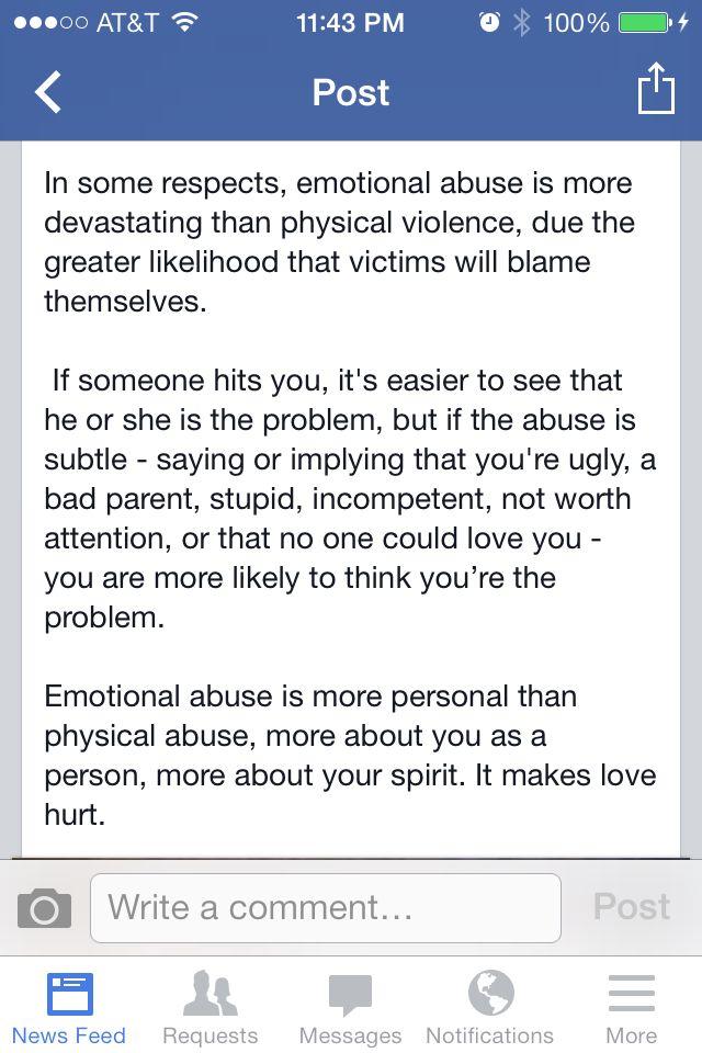 Emotional abuse Intern...