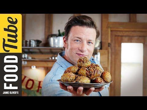 Christmas Hasselback Potatoes | Jamie Oliver