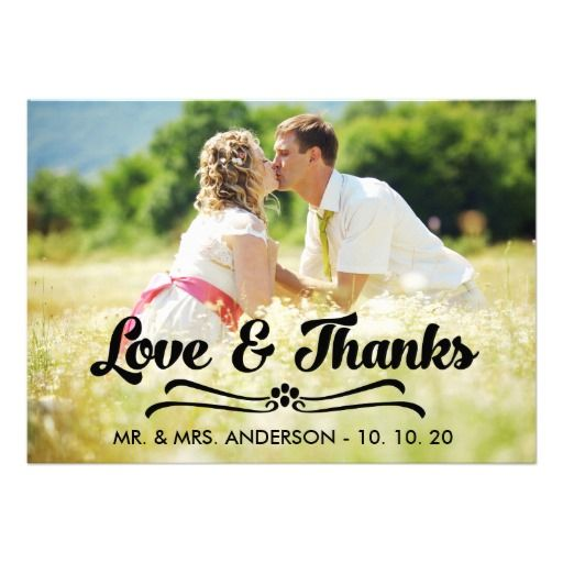10 Best images about Wedding Thank You Cards – Zazzle Wedding Thank You Cards