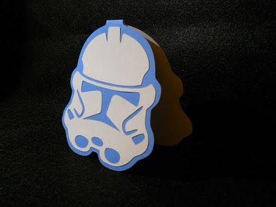 Star Wars Clone Trooper Card Svg Cricut Explore
