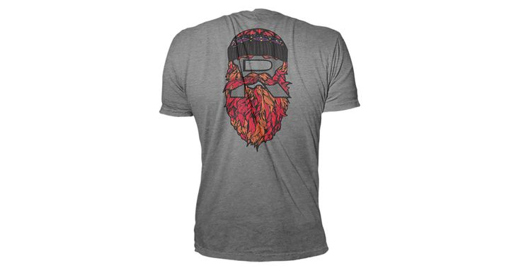 Printed on a tri-blend American Apparel blank and featuring a Lucas Parker beard logo, the Lucas Parker Beard Shirt is sure to impress!