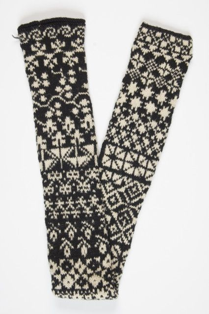Estonian - a scarf is a perfect way to try out a whole bunch of different patterns