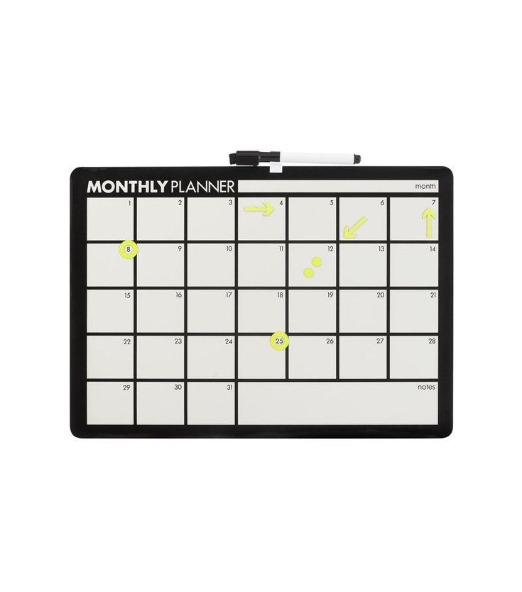 whiteboard maandplanner - HEMA