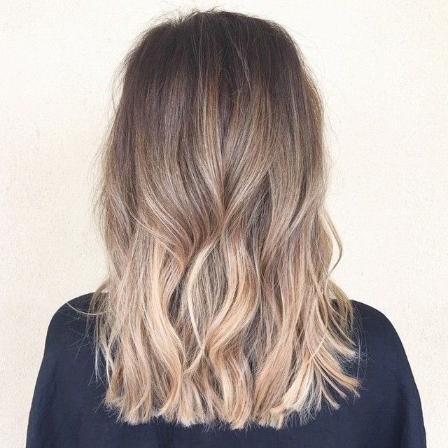 Straight shoulder length ombre hair tumblr